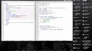HTML5 CANVAS - Normal and Exponential Distribution [Tutorial]