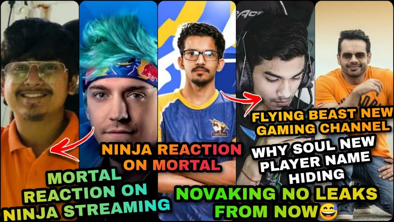 MORTAL RAID NINJA ? | NINJA ON MORTAL😮 | FLYING BEAST NEW CHANNEL | SOUL NEW MEMBER BLAEZI CONFIRM