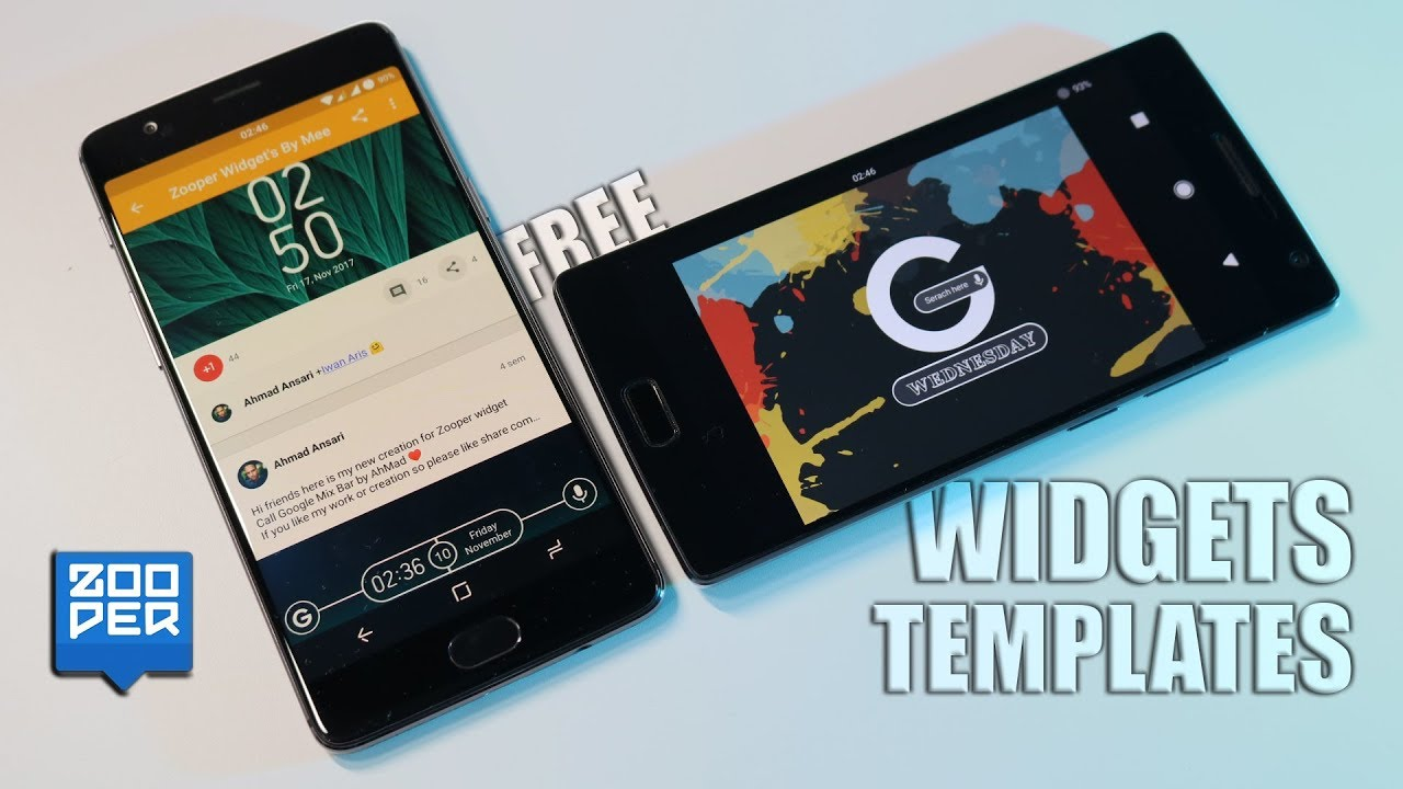 WIDGETS / TEMPLATES ZOOPER | PACK FREE BY Ahmad Ansari (Seu Android  personalizado)