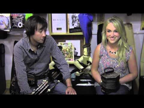 Tom Delany and Caroline Keane