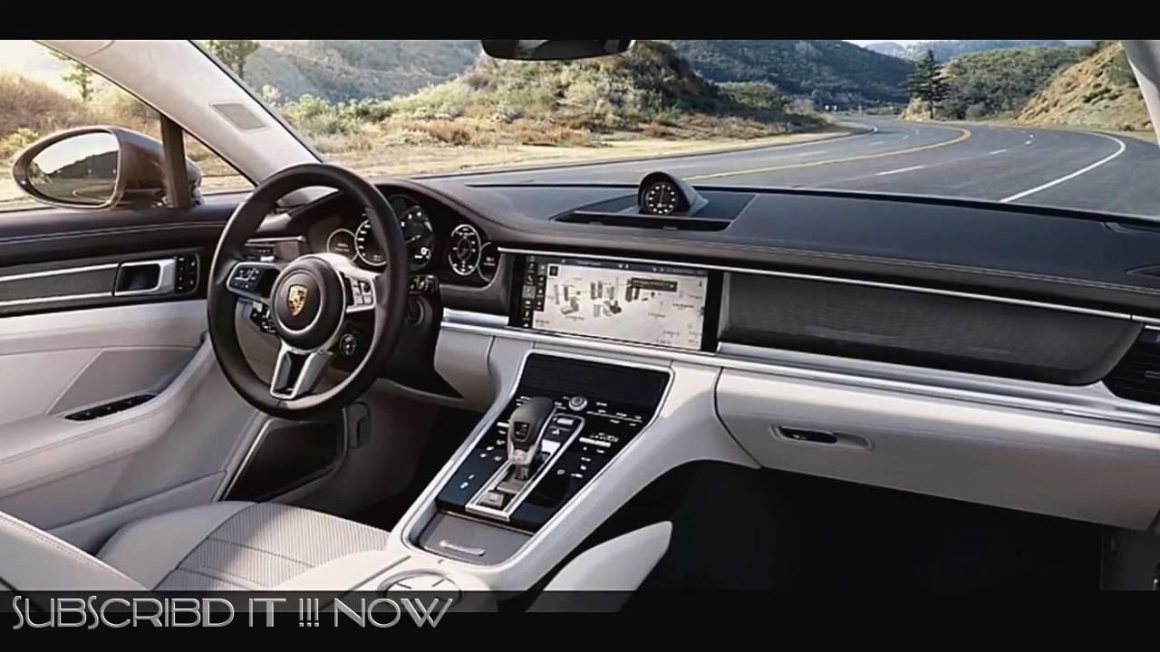 2017 Interior New Porsche Panamera Porsche Panamera Turbo