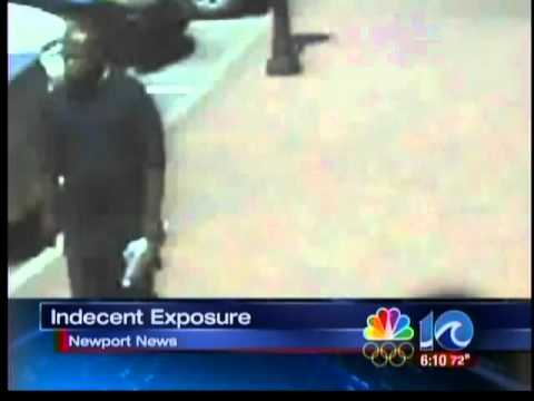 Police release video of Newport News flasher