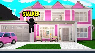 I Have A STALKER.. I Caught Him Breaking Into My House! (Roblox Bloxburg)