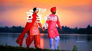 😘 punjabi romantic song😍 whatsapp status video|| gf 💏 bf love New Punjabi WhatsApp status