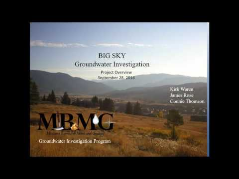 2016-09-28 05 Geology of Ground Water Resources (Mike Richter & James Rose)
