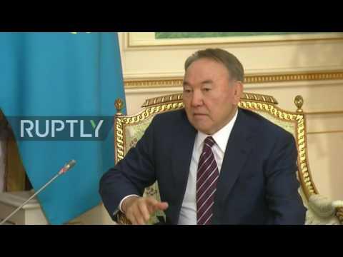 Kazakhstan: Putin and President Nazarbayev laud strategic partnership in Astana