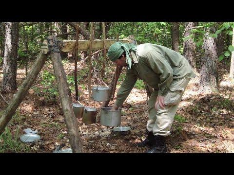 Multi Camper Cook Rack - Bushcraft Style