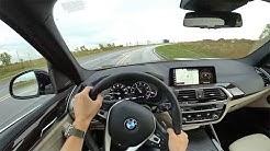 2018 BMW X3 xDrive30i - POV First Impressions (Binaural Audio)