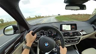2018 BMW X3 xDrive30i - POV First Impressions (Binaural Audio)