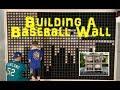 D.I.Y. Baseball Wall Build With 975 Baseballs