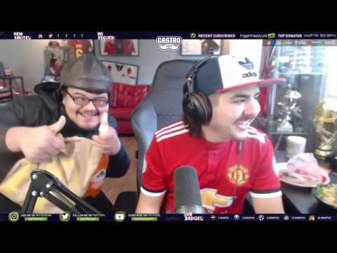 Castro Funny Moments & Opening FUT Champions Packs with Tuba
