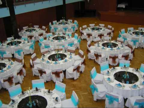 Turquoise Bluebrown Wedding Youtube