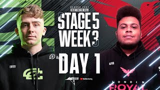 Call of Duty League 2021 Season | Stage V Week 3 — Seattle Home Series | Day 1