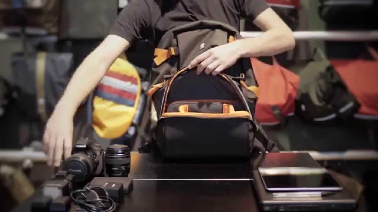 dolor de estómago Cartero administración  CRUMPLER HOW-Tos // Proper Roady Half Photo Backpack - YouTube