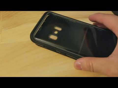 How to fix the volume button keys on LifeProof fre case Galaxy S8 Plus