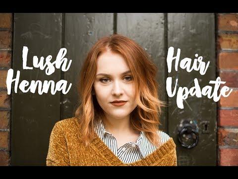 Lush Henna Hair Update Q A Tips Caca Rouge Youtube