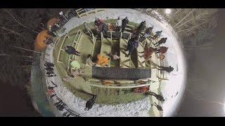 Видео 360: Крещенские купания в Серебряном бору