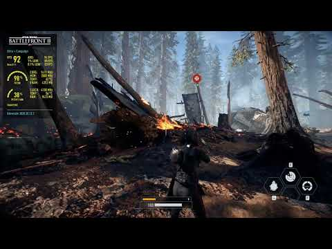 Star Wars Battlefront II  - RX 580 All Settings  -DX 11- DX 12 I GAME Tester :T |