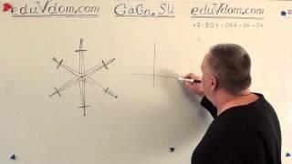 ГИА 2013 реальная математика 24 - оси симметрии #24