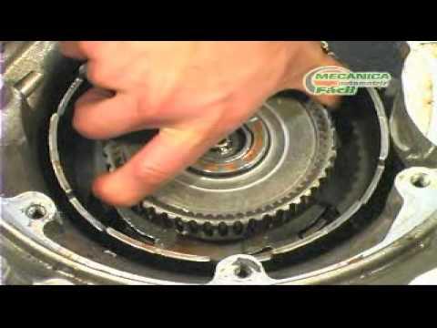 Reparación transmisión automática 1 (desmontaje y desarme)