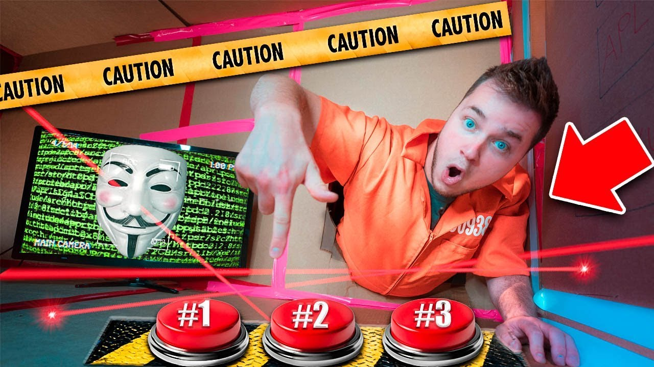 game-master-challenge-don-t-push-the-wrong-button-box-fort-maze-escape-project-zorgo-hacker