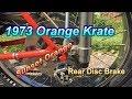 1973 Schwinn Orange Krate Disc Brake