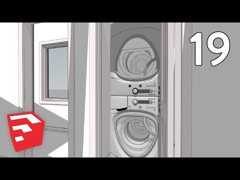 BIFOLD DOOR & SHOWER - Dramatic Contemporary House Pt. 19