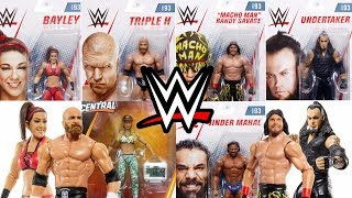 New WWE Action Figure Images featuring WWE Basic 93 & Walmart Exclusive Carmella Elite