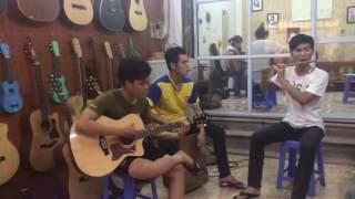 Tân Bến Thượng Hải - cover sáo trúc + guitar + cajon