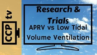 Airway Pressure Release Ventilation- Does it make a difference?