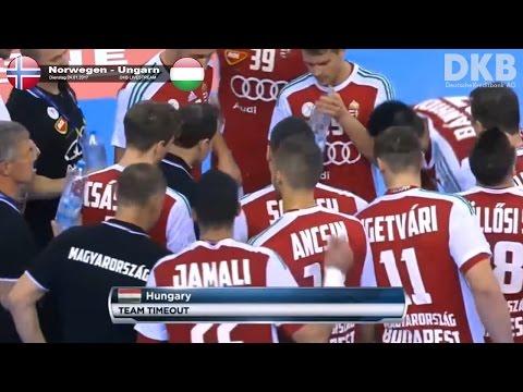 Highlights: Norwegen - Ungarn 31-28 viertelfinale Handball WorldCup 2017    24. januar 2017