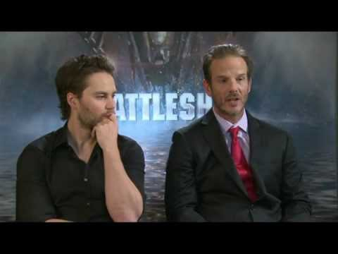 Interview With Taylor Kitsch And Peter Berg - Battleship