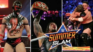 WWE #Summerslam 19th August 2018 Highlights Hindi Preview ! WWE Summerslam 2018