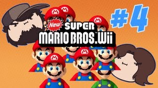 new super mario bros wii can you clap that fast part 4 game grumps