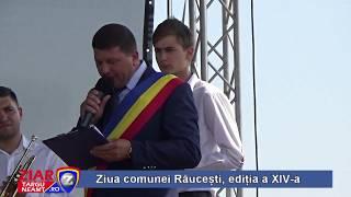 Ziua comunei Raucesti 2018-deschidere oficiala