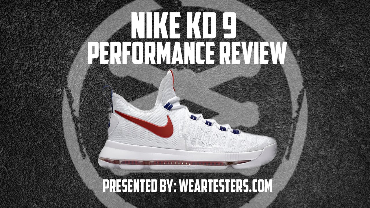 the latest 0195a 88d93 Nike KD 9 Performance Review (In My True Size) - YouTube