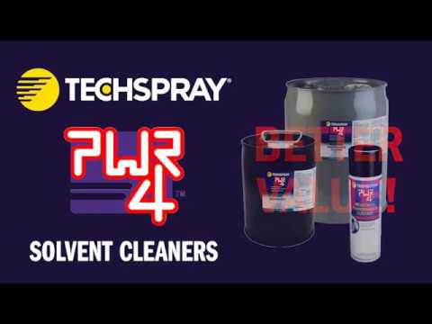 Techspray PWR 4 solvent cleaners