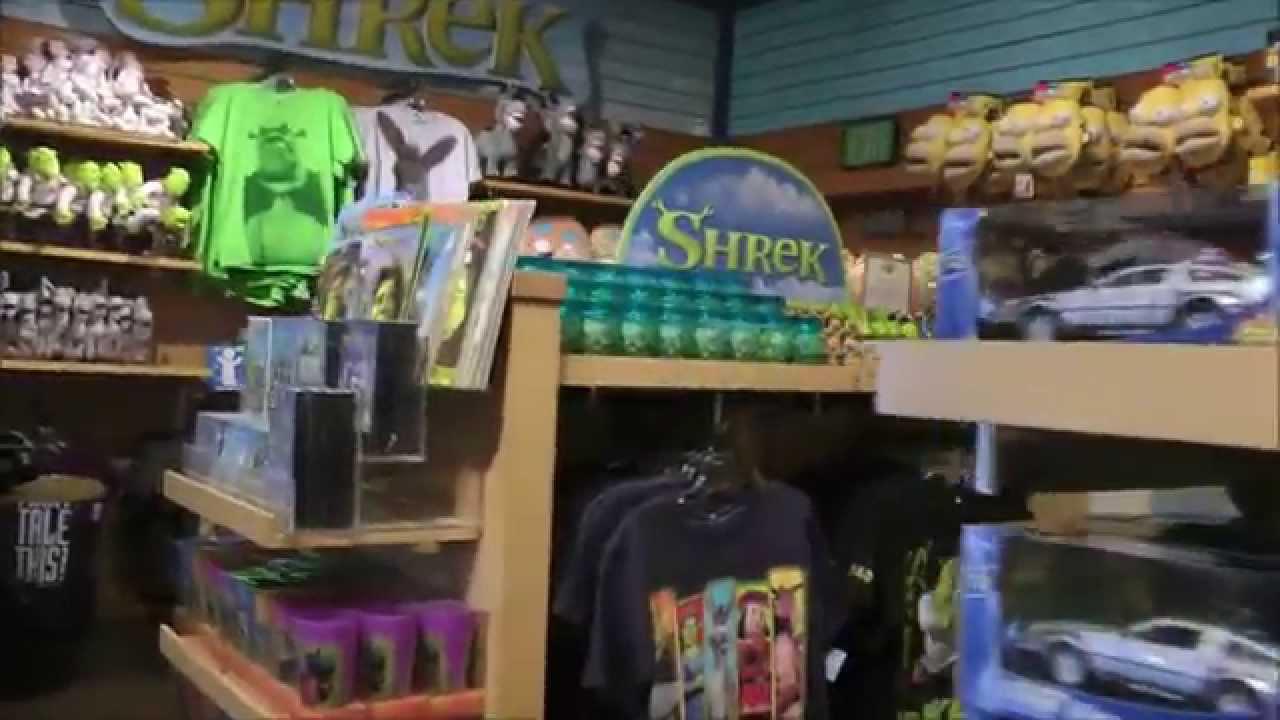 Cartooniversal Gift Shop at Universal Studios Hollywood - YouTube