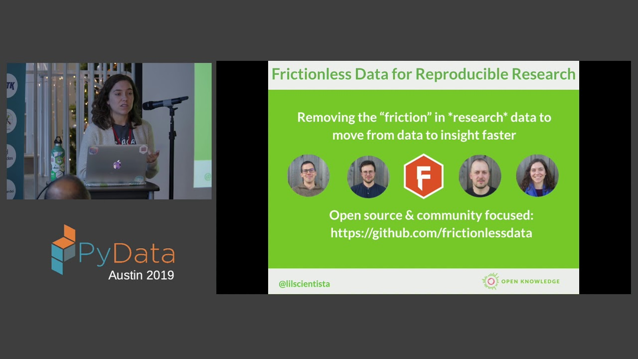 Image from Lilly Winfree: Frictionless Data Pipelines | PyData Austin 2019
