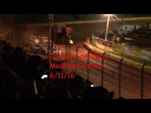 Toccoa Speedway Modified Street Feature Race 6/11/16