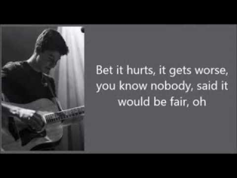 Shawn Mendes - Aftertaste (lyrics)