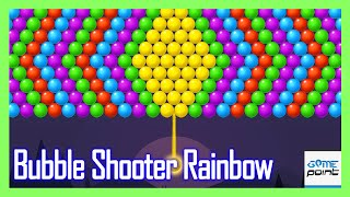 Bubble Shooter Rainbow - Shoot and Pop Puzzle Level 11 - 20 | @Game Point PK screenshot 3