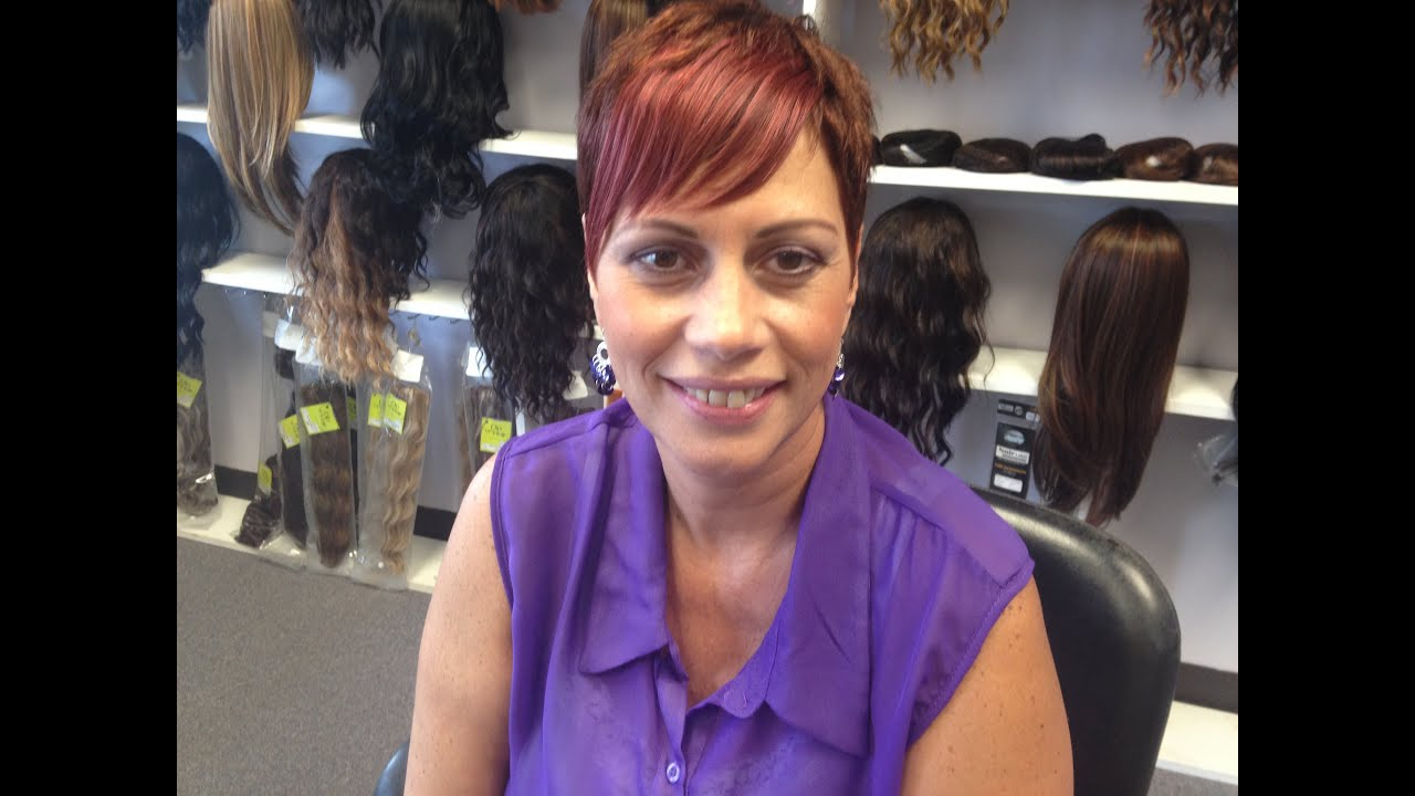 Clips On Bangs And Clip On Attachments Salon Vishay Hair