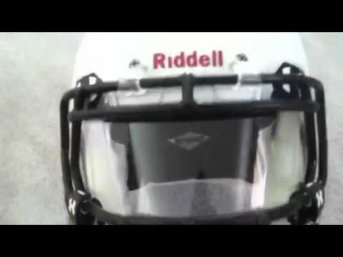 c2353824 Revo Speed Football Helmet w/ Visor - YouTube