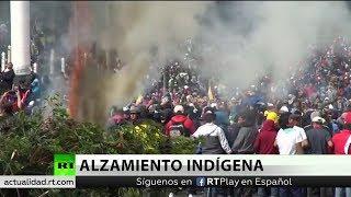 Celebran huelga general en Ecuador