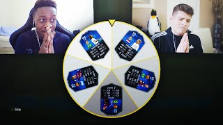 UNLIMITED TOTY PLAYERS IN A FIFA 17 GAMEMODE?!! - FIFA 16 SPIN THE WHEEL!