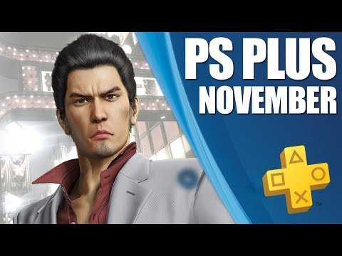 PlayStation Plus Monthly Games - November 2018