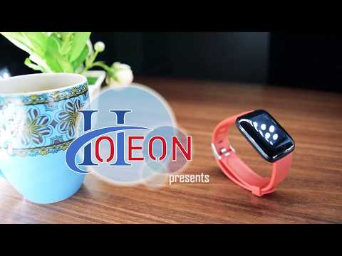A6S SMART WATCH HOTEON Color Screen Smart Sports Bracelet,IP67 Waterproof Smart Watch,
