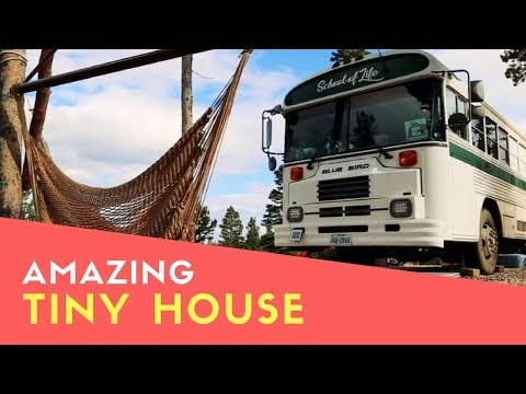 Amazing Young Family Live In Beautiful Converted School Bus To Travel North America