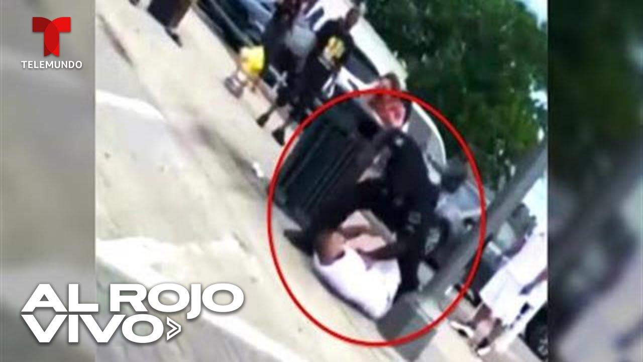 Video exhibe la brutal golpiza que recibió un hombre a manos de un policía en Texas
